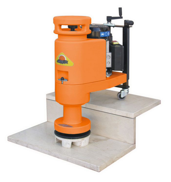 Stone floor grinding and polishing machines nuova for Floor grinding machine