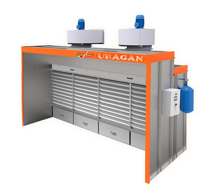Dry Suction Cabin - Uragan
